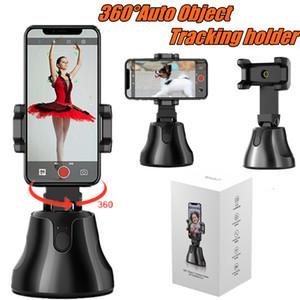 NOVO inteligente tiro selfie vara Smartphone Mount Holder 360 rotação Face Tracking Auto rastreamento de objetos vlog Titular Camera Phone Universal