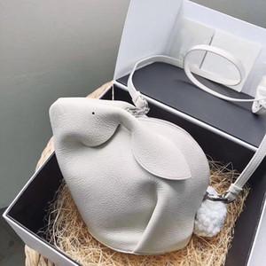 Charm2019 Летний Кролик Маленький Как Натуральная Кожа Коровья Кожа Мини Одно Плечо Пядь Панда Женщина Пакет