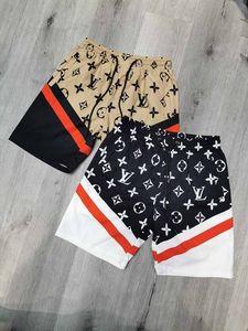 Calças de verão Swimwear Praia Mens Board Shorts Black Men designer de Luxo Surf Shorts Cavalo pequeno sunga Esporte Shorts
