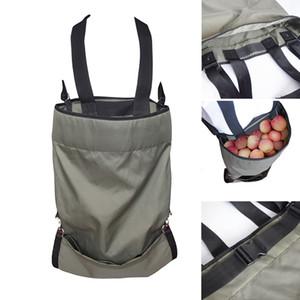 Фруктовый сад поставляет фрукты сбор фартук сумка для хранения водонепроницаемый урожай Садовый фартук 49 x 86 см высокопрочная ткань Оксфорд