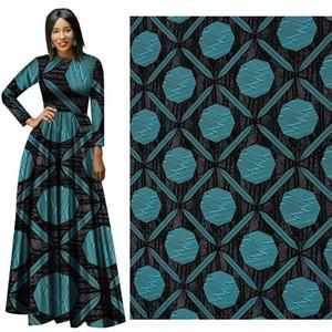 Tissu ankara africain véritable imprimé à la cire Dutch Wax Print Bazin Tissu binta real Wax 100% coton Tissu