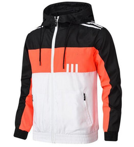B1 Homens Mulheres Casaco Designer Jacket de luxo camisola com capuz manga comprida Autumn Sports Zipper Marca Windbreaker Mens Clothes Mais de Hoodies Tamanho