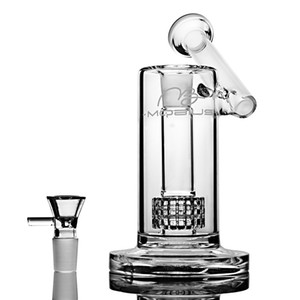 Mobius Glass Bongs Wasserpfeifen Matrix Perc Sidecar Glas Wasser Bong Bubbler Heady Dab Rigs mit 18mm Bowl Hookahs Für Tobacco 7.5 ''