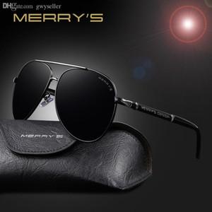 موضة النظارات الشمسية العلامة التجارية الرجال الكلاسيكية HD الاستقطاب الالومنيوم الاطار كبير النظارات الشمس للحصول على الرجال لتعليم قيادة السيارات ظلال S'8728