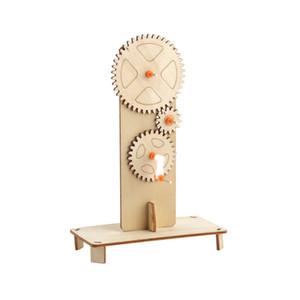 Наука и технологии мелкого производство DIY механической передачи связь руководство изобретение пакет Student Science Experiment игрушка