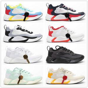 Yeni 2019 AlphaBounce HPC AMS 3 M 10 Erkek Koşu Ayakkabıları Erkekler AlphaBounce Instinct M 10 Beyaz Kırmızı Siyah Tasarımcı Snerkers Boyutu EUR 40-45 React