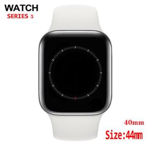 O carregamento sem fio Goophone Assista 5 4 3 IP67 Waterproof GPS relógio inteligente 44 milímetros Heart Rate Sangue MTK2503AVE pressão para iPhone 11 Pro Max S10 +