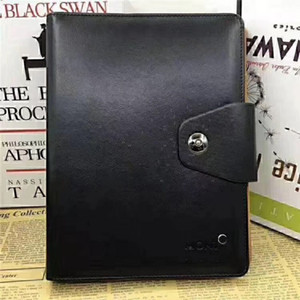Clássico Alemanha Notebook Business Supply Avançado Capa de Couro Agenda Handmade Notebook Periódico Diário Do Logotipo Do Escritório Notepad