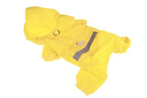 1PCS Pet Raincoat Poncho Pet Dog Rain Jacket Pet Reflective Strip Raincoat Dog Polyester Waterproof Rain Poncho 9 Size