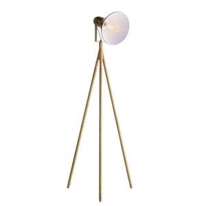 EU Stock Floor Lamp com Fonte de Luz Nordic simples tripé retro moderno Vertical Candeeiros EUA plug