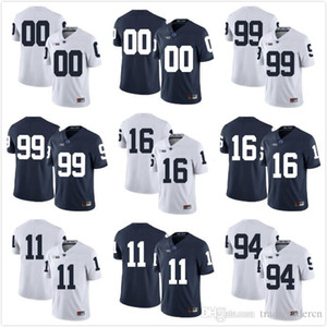 Benutzerdefinierte Herren Jugend Penn State Nittany Lions Jeder Name Jede Nummer Personalisierte Kinder Mann Home Away NCAA College Football Trikots