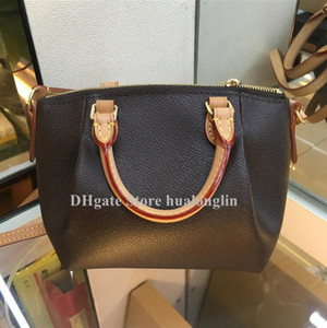 sacchetto di spalla della borsa delle donne di alta qualità Tote trasporto all'ingrosso di goccia Fiore plaid
