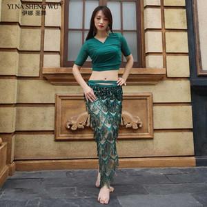 jeu Tassel danse du ventre de danse orientale Costume écharpe Hip Hip Top scarf Pour femme Belly Dancing jupes pour femme Bellydance
