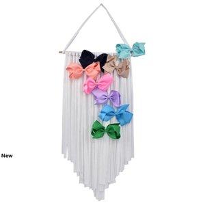 INS Baby Hair Bow Holder Hanger Girls Hairs Clips Storage Organizer Portable Hairwear Belt Kids Hair Bow Hanger Novelty Items CCA11749 20pcs