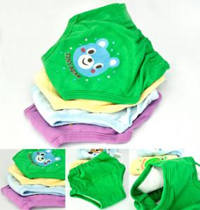 재사용 가능한 핫 4X 아기 유아 소녀 소년 4 레이어 방수 변기 트레이닝 바지 4 개 4 개 diffrent 색상