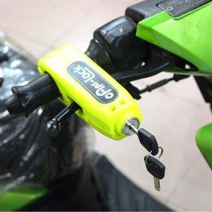 Nuoxintr Evrensel Motosiklet Gidon Kilit Motokros Kol Hırsızlık Koruması Kilit Brake scooter Gaz Kolu Güvenlik