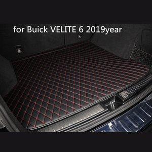 Buick Velite 6 2019year araç kaymaz mat için özel bir anti-patinaj deri araba bagajı paspas paspas uygun