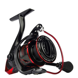Sharky III Innovative Water Resistance Spinning Reel 18KG Max Drag Power Fishing Reel for Bass Pike Carp Fishing Pre-Loading Spinning Wheel
