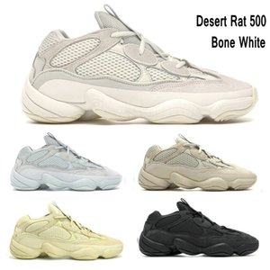 New 2019 Bone White DESERT RAT Kanye West Runner chaussures de designer pour homme, utilitaire Black Blush, chaussures de sport, baskets