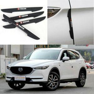 Für Mazda CX-5 Auto Seitentür Rand Schutz Stoßstange Trim Protector Aufkleber 4 Stücke