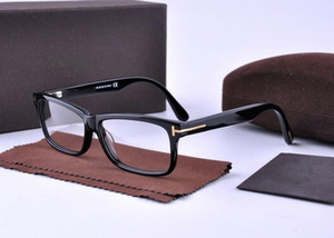Classical TF5146 unisex eyewear frame 54-13-145 high-quality pure-plank small full-rim prescription eyeglasses fullset case wholesale