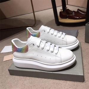 남여 desiger 캐주얼 신발 클래식 스타일의 남자와 여자 캐주얼 신발 최고 품질의 가죽 편안하고 통기성 운동화 신발