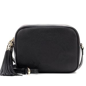 Designer de luxo Bolsas Bolsas Mulheres Leather Soho Bag Disco Bolsa de Ombro Bolsa de alta qualidade Camera Crossobody Bags 21 centímetros