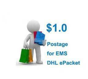 2019 Porto für DHL EMS China Post Epacket Kostenloser Versand Zahlungsverknüpfung ein Bild an mich senden Weitere Stilsaschen und Schuhe