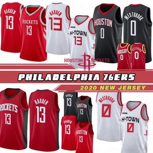 New Season Houston Rockets Golden State Warriors Uomo Maglie basket 13 James Harden 3 Chris Paul 7 Carmelo Anthony Cuciture maglie basket Top Quality Hot 20