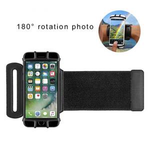VUP Esticável Armband Sports Ciclismo Correr 180 Degree giratórios ajustável pulseira de silicone titulares de telefone celular de iPhone11 X XR