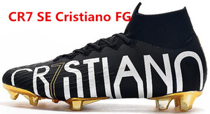 kutu ile 2020 Yeni cr7 SE Elite KJ VI 360 FG Futbol Ayakkabı krampon Mercurial Superfly 6 LVL UP Cristiano Ronaldo Erkekler futbol koç boynuzu