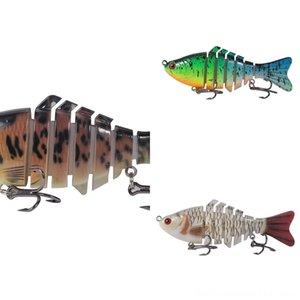 ABpda # 5555 Luya appât crevettes lumineux bionique faux baitset pêche au calmar lumineux doux appât Blackfish