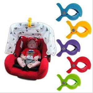 Asiento de seguridad del cochecito de bebé del clip accesorios de plástico de juguete Cochecito Cochecito de niño Hook Peg Manta pezón pinzas de gancho clips Mosquitera