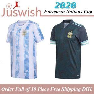 2020 Copa America ARGENTINA soccer jerseys Messi HIGUAIN ICARDI KUN AGUERO 19 20 men women kids set camisetas futbol MARADONA FOOTBALL SHIRT