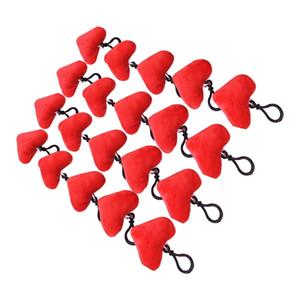Новая творческая жизнь Sweet Heart Мини Плюшевые Подушки Плюшевые игрушки Keychain украшения Валентина подарка Валентина Главная Декор стены и