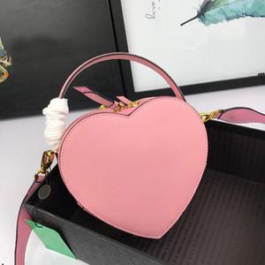 2020 moda bayan cüzdan Kalp şekilli çanta çanta kadın lüks kesesi banane cüzdanlar crossbody çanta