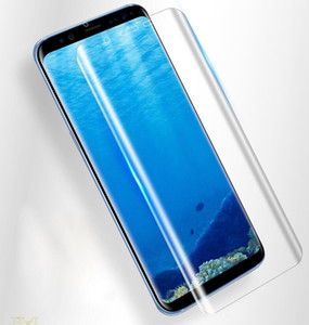 Для Samsung Galaxy S10 S10Plus S20 S9 Примечание 9 10 Plus Full Cover Изогнутые High Clear Front Screen Protector Защитная пленка Soft TPE Film