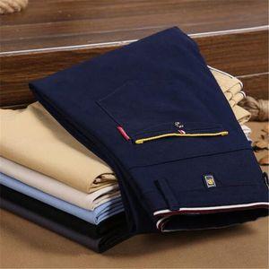 높은 품질 2020 패션 남성 조커 바지면 바로 비즈니스 긴 남성의 치노 바지 캐주얼 바지 pantalon의 옴므