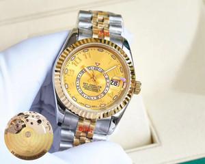 Super 45 montre DE luxe 8215 полноавтоматические часы механический механизм 36 мм 316 тонкий стальной корпус высокая прочность водонепроницаемый 100 м
