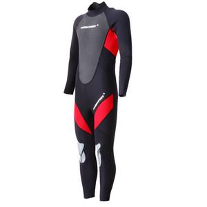 Premium NeoprenWetsuit, 3mm Männer Tauchen Thermal Wetsuit, Kompletter Anzug