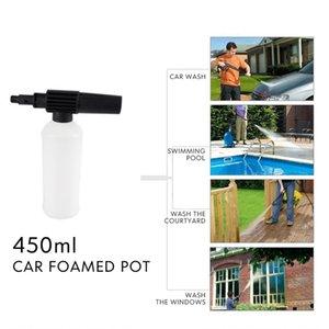 Neve Schiuma Lance Water Gun manutenzione Connection modifiche anche per polverizzatori sapone con adattatore 450ml strumento tubo Wash