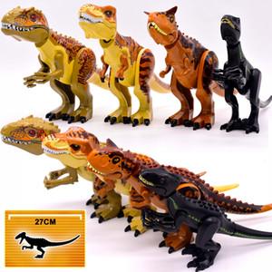 Brutal Raptor Binası Jurassic Blokları Dünya 2 Dinozor Rakamlar Tuğla Dino Oyuncaklar Çocuklar için Legoed Dinosaurios Noel Hediyesi