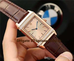 Горячая продажа Q2788520 часы бриллиантовый безель швейцарский автоматический 21600vph сапфировое розовое золото корпус ремешок из телячьей кожи твердый корпус назад мужские часы