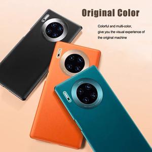 Luxus harter PC Mattkasten für Huawei P40 P3 Pro Ultra-Thin-Telefon-schützrückseitige Abdeckung für Mate-30Pro Objektiv Metall Coque Shell