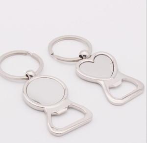 Coeur d'amour ronde ouvre-bouteille porte-clés personnalisé Epoux personnalisé de soirée de mariage ouvre-cadeau pour Invités Favors fournitures FFA3080