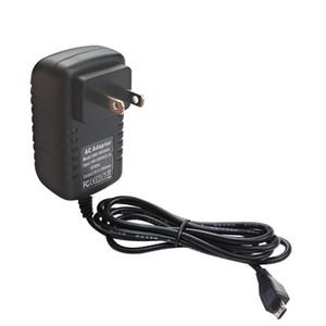 Port UE spina degli Stati Uniti 5V 3A Power Adapter parete del rifornimento di potere del caricatore micro USB per la NAVE VELOCE Raspberry Modello B di alta qualità