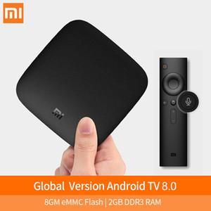 Xiaomi Mi TV Box 3 Inteligente 4K Ultra HD 2G 8G Android 8.1 Wifi Google Netflix Media Player IPTV Set