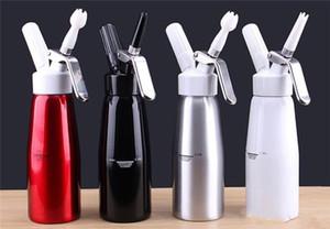 Ücretsiz Kargo Yeni 500 ML Metal Kırbaç Kahve, Tatlı, Taze Krema, Tereyağı, Dağıtıcı kırbaç Köpük yapıcı