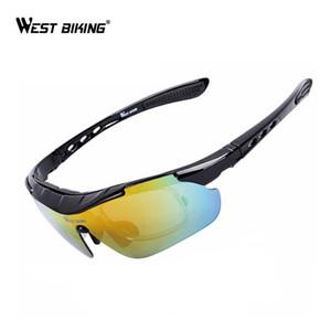 WEST RADFAHREN Frauen Männer Radfahren Brillen Fahrrad Brille Photochrom Polarisierte 5 Objektiv Sunglases Outdoor Sport Brille Goggle