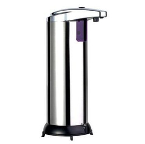 Otomatik Sensör Sabun Makinesi Sıvı Sabun Dispenserler Paslanmaz Çelik Sabunluk Taşınabilir Hareket Dağıtıcı CCA11252-A Aktif